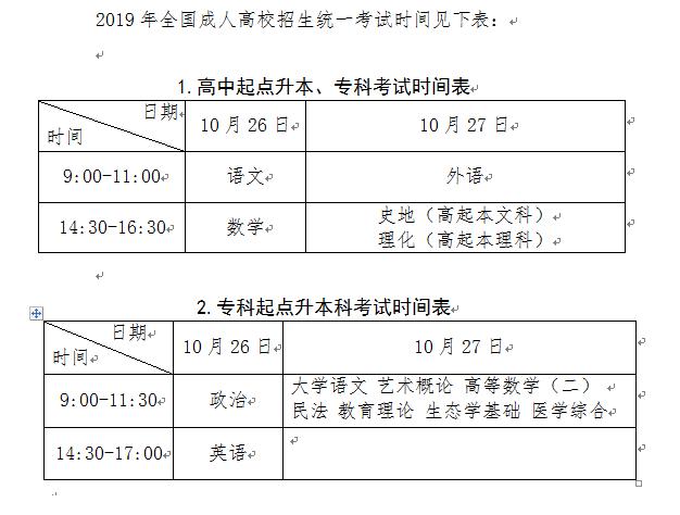暨南大学成人高等教育2019年招生简章